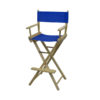 Director Chair Bar Height (Unimprinted)royalblue