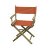 Director Chair Table Height (Unimprinted)orange