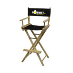 Director Chair Bar Height (Full-Color Thermal Imprint)black